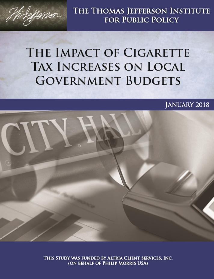 The Impact of Cigarette Tax Increases on Local Government Budgets