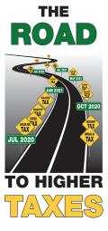 The Road to Higher Taxes